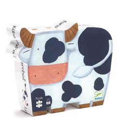 Djeco Puzzles - The Cows On The Farm