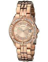 Guess Ladies Sporty Chic Rose Gold-Tone Mid-Size Watch - U11069L1 (Parallel Import)