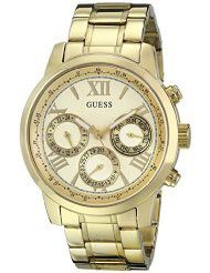 Guess Ladies Gold-Tone Stainless Steel Multifunction Watch - U0330L1 (Parallel Import)