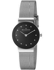Skagen Ladies Freja Quartz 2 Hand Stainless Steel Silver Watch - 358SSSBD (Parallel Import)
