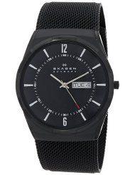 "Skagen Men's ""Melbye"" Black Titanium Watch with Mesh Band - SKW6006 (Parallel Import)"