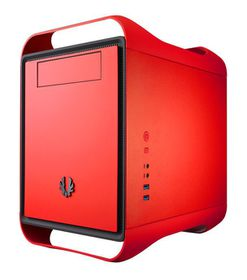 BitFenix Prodigy Window Red - M-ATX Tower
