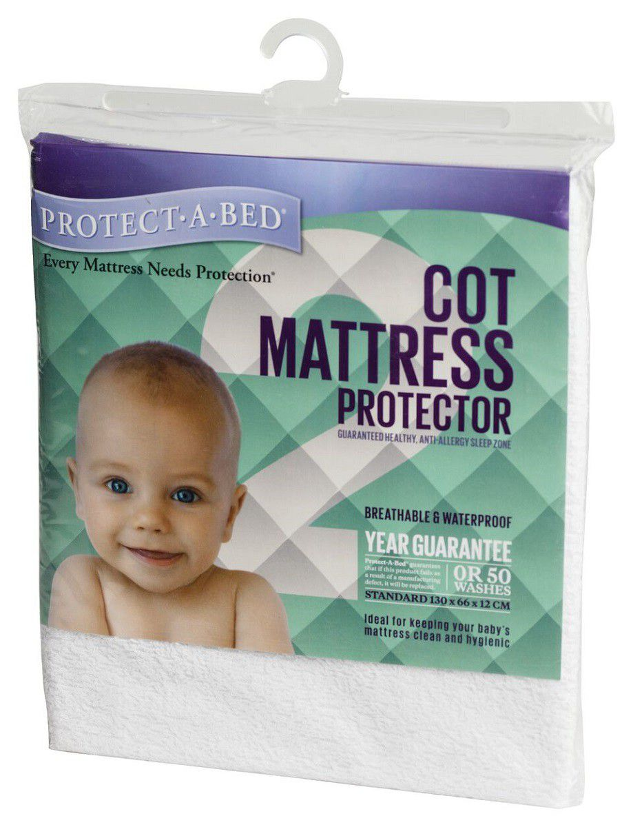 bed protector deluxe a protect white zoom premium buy mattress