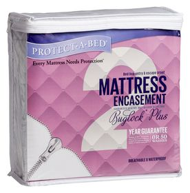 Protect-A-Bed - BuglockPlus Mattress Encasement 35cm Depth