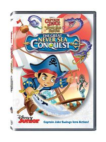 Captain Jake & The Neverland Pirates: The Great Never Sea Rescue (DVD)