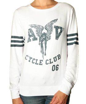 Apres Velo Ladies Cycle Club Slouch T-Shirt - White