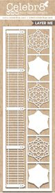 Celebr8 Heart-itude Matt Board Lanki - Ornate Fence