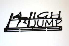 TrendyShop High Jump Medal Hanger - Black