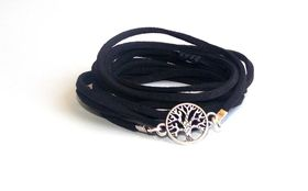 Lakota Inspirations Tree of Life Wrap - Black
