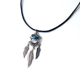 Lakota Inspirations Bohemian Queen Cord Necklace - Turquoise
