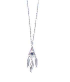 Lakota Inspirations Bohemian Queen Chain Necklace - Black