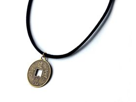 Lakota Inspirations Chinese Money Coin Choker