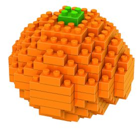 Diamond Block- Orange