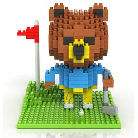 Diamond Block- Brown Bear Golf