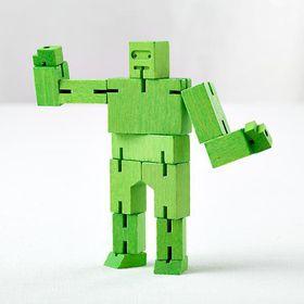 Areaware - Green Micro Cubebot