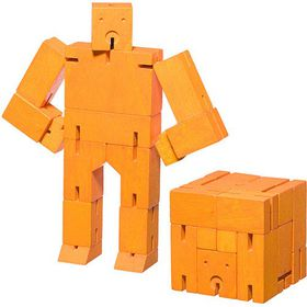 Areaware - Orange Micro Cubebot