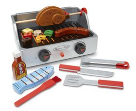 Melissa & Doug Rotisserie & Grill Barbecue Set