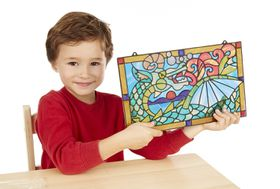Melissa & Doug Dragon Stained Glass