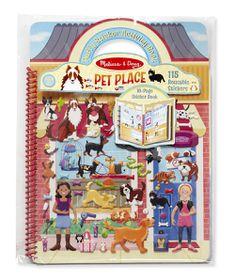 Melissa & Doug Pet Place Puffy Sticker Activity Book