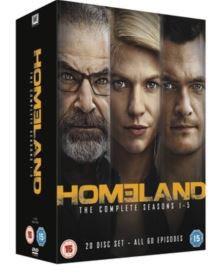 Homeland: Season 1-5 (DVD)