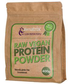 Lifematrix Raw Vegan Protein - 400g