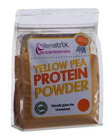 Lifematrix Yellow Pea Protein - 1kg