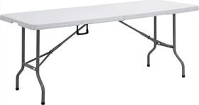 Bushtec - 6Ft Hdpe Table - White