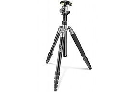 PrimaPhoto PHTRBSL Travel Tripod Kit Big Silver