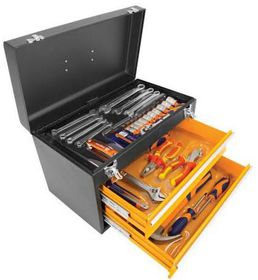 Fragram - Toolkit 2 Drawer Set - Black