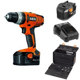 AEG - Cordless Hammer D-D Kit - Orange