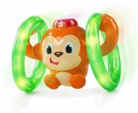 Bright Starts - Lights Baby Roll and Glow Monkey