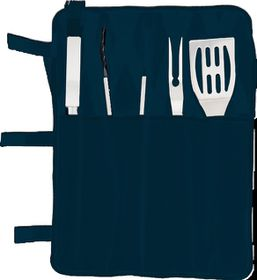 Eco - 5 Piece Braai Set - Navy
