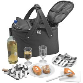 Eco - 2 Person Picnic Bag with Cooling Function - Black