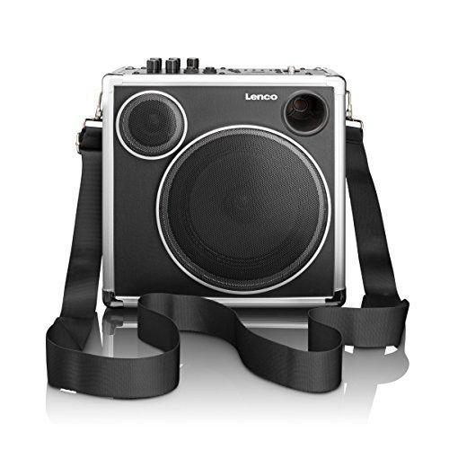 sound system bluetooth. lenco pa45 portable sound system with bluetooth c