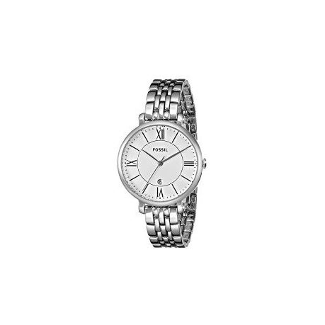9cdb5b8f9c40 Fossil Ladies ES3433 Jacqueline Three-Hand Stainless Steel Watch - Silver- Tone (parallel import)   Buy Online in South Africa   takealot.com