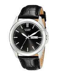 Citizen Men's BF0580-06E Stainless Steel Watch With Black Leather Band (parallel import)