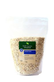 Health Connection Wholefoods Oats Rolled - 1Kg