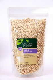 Health Connection Wholefoods Puffed Brown Rice - 100g