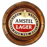 Amstel Lager Large Barrel End
