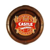 Castle Draught Large Barrel End