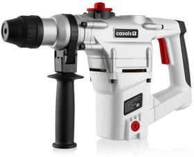 Casals - Rotary Hammer Drill - White, Grey & Red
