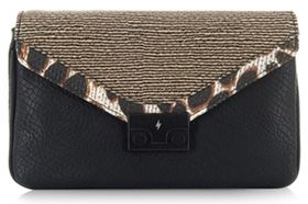 Pauls Boutique Savannah Seymour Collection Clutch Bag - Black/Sand