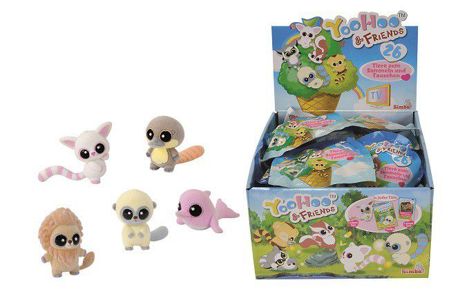 YooHoo And Friends Collectible Figures In Surprise Foil Pack
