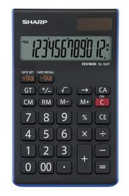 Sharp EL-124T Desk Calculator