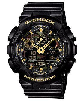 Casio G-Shock (GA-100CF-1A9DR) Men's Watch - Gold