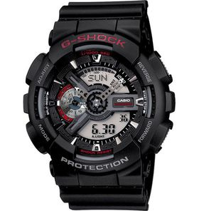 Casio G-Shock (GA-110-1ADR) Men's Watch - Red