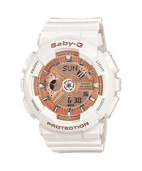 Casio Baby-G (BA-110-7A1DR) Ladies Watch - Rose Gold
