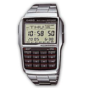 Casio Databank (DBC-32D-1ADF) Men's Watch - Silver