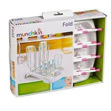 Munchkin - Deluxe Bottle Drying Rack - Pink
