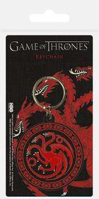 Game of Thrones House of Targaryen Rubber Keychain